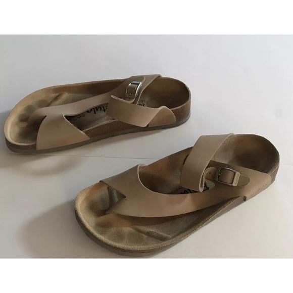 Birkenstock Betula Womens Beige Leather